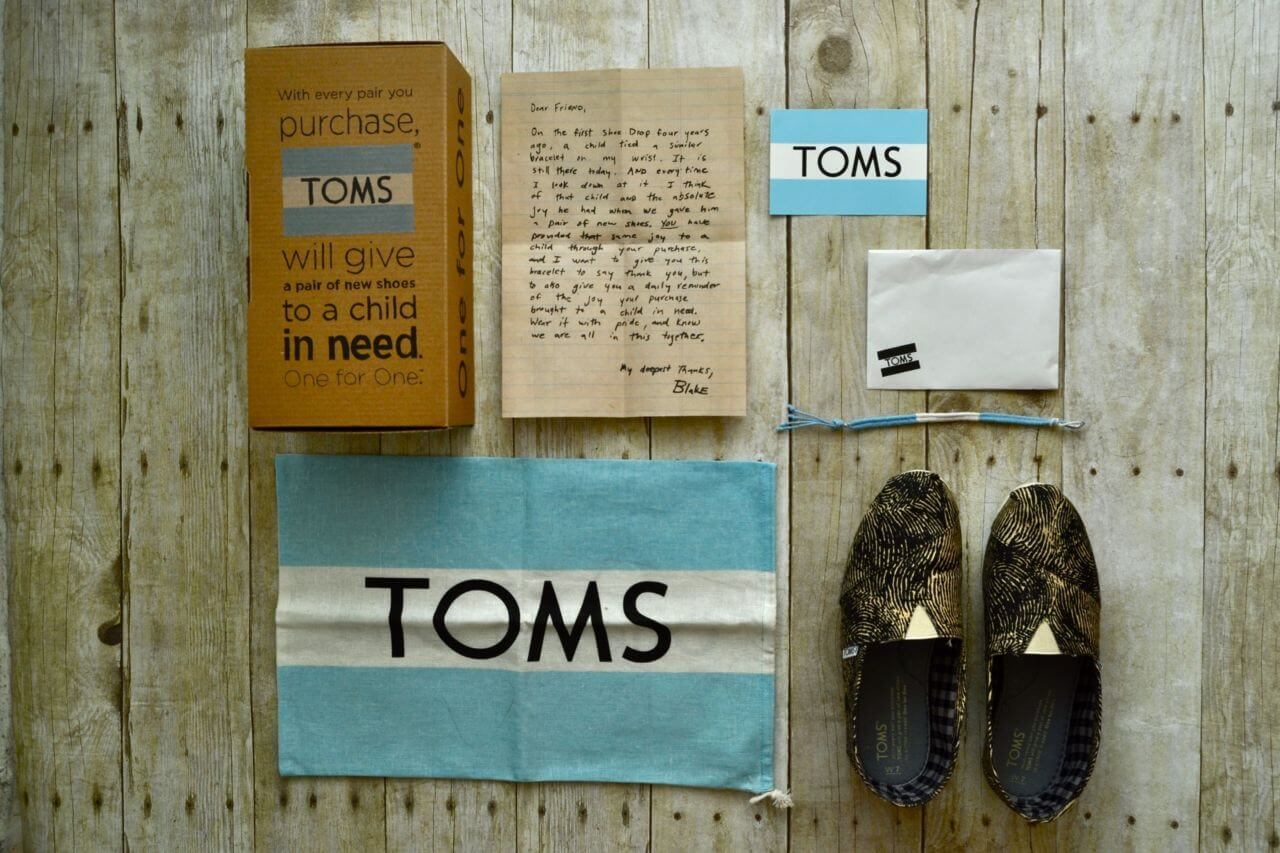 TOMS Shopping Guide