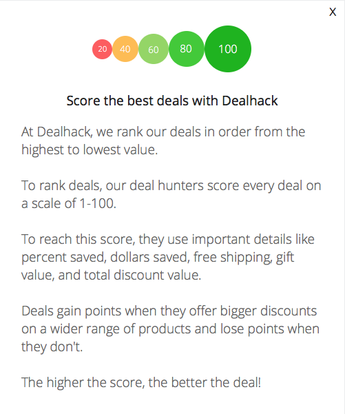 Score the best deals with Dealhack.